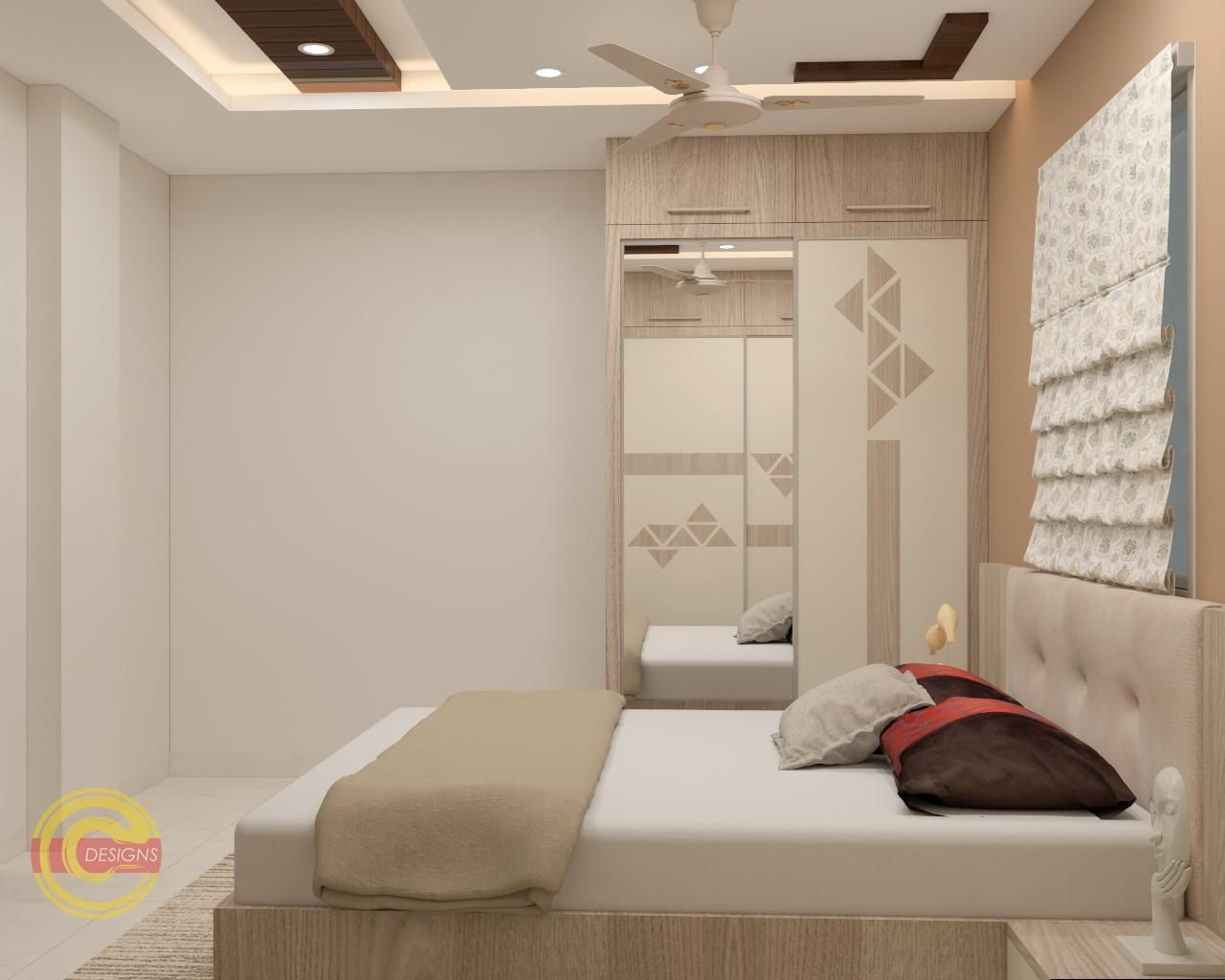 Linkedin Bedroom Design False Ceiling Design