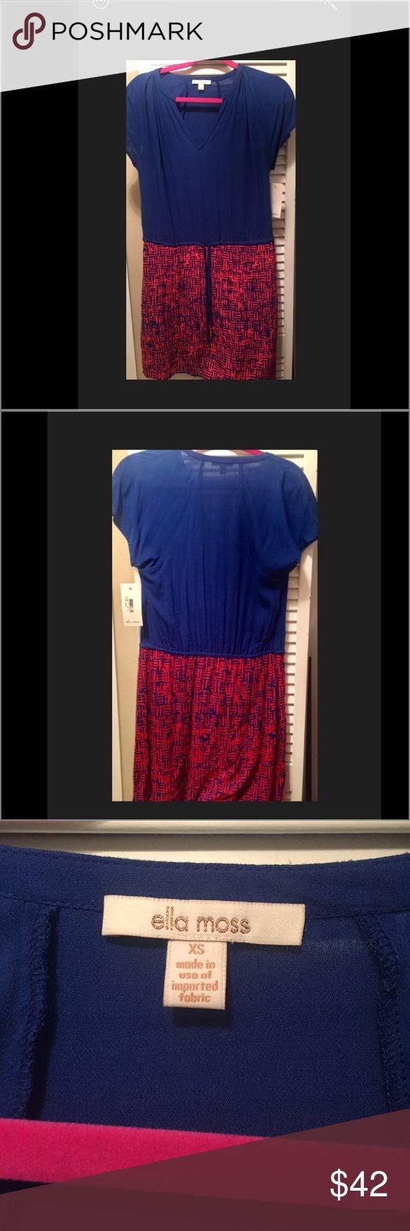 Ella Moss mini dress NWT Ella Moss mini dress. New condition. Flattering fit. Pet Free + Smoke Free home Ella Moss Dresses Mini