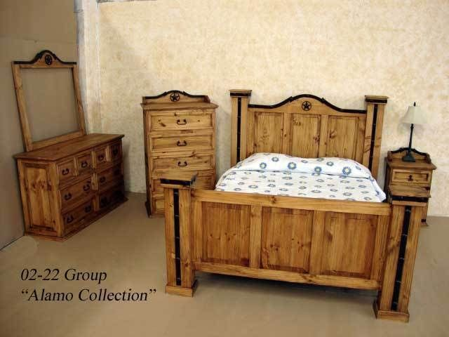 Rustic Alamo Iron Accent Bedroom Set Western King Queen Free Shipping Bedroom Sets Rustic Bedroom Sets Rustic Bedroom Furniture Sets Bedroom Set