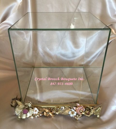 Luxury Brooch Bouquet Display Case Crystal Brooch Bouquets Inc ...