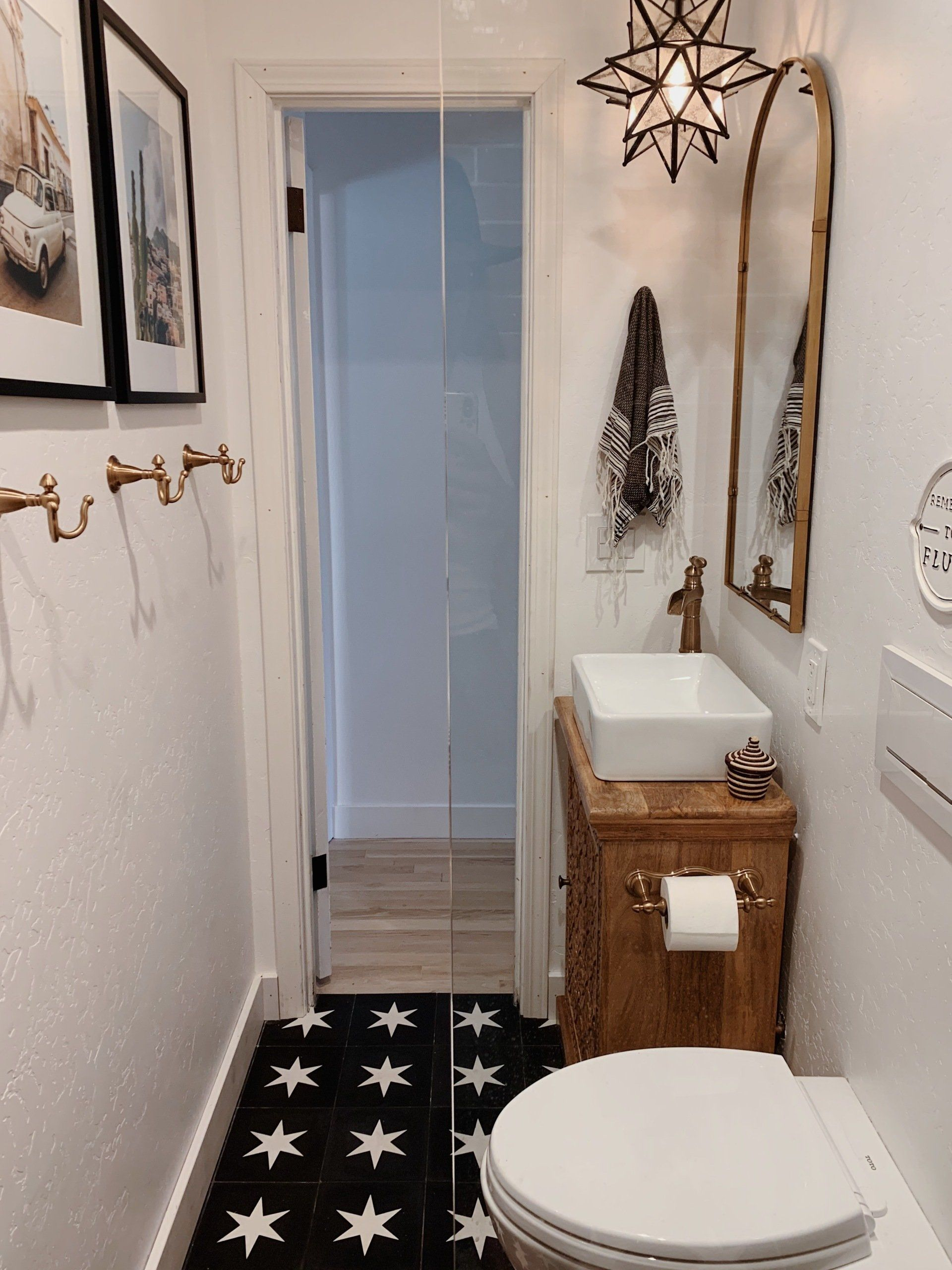 A behind the scenes look at our remodel turning a bedroom