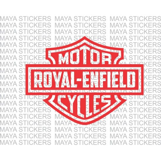 367e6c1c031 Royal Enfield logo in Harley Davidson style