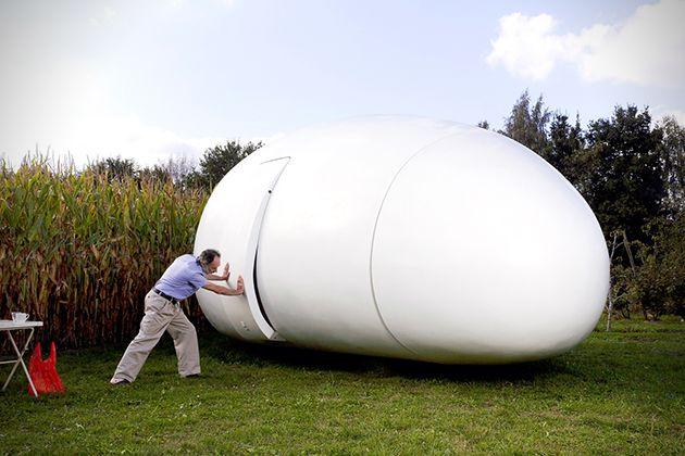 Blob Mobili ~ Blob vb mobile house art architecture design