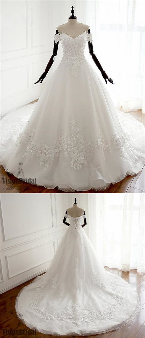 Charming Off Shoulder Sweetheart A Line Lace Long Custom Inexpensive Wedding Bridal Dresses Princes Wedding Dresses Inexpensive Wedding Dresses Bridal Dresses,Dress Wedding Guest Fashion And Style