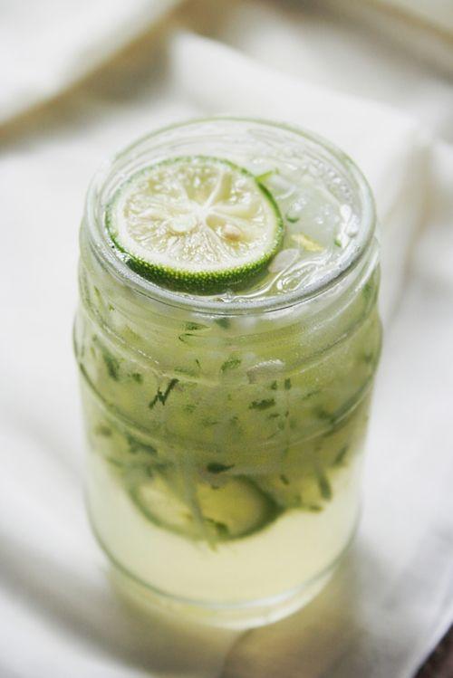 Cucumber & Ginger-Lime Cooler