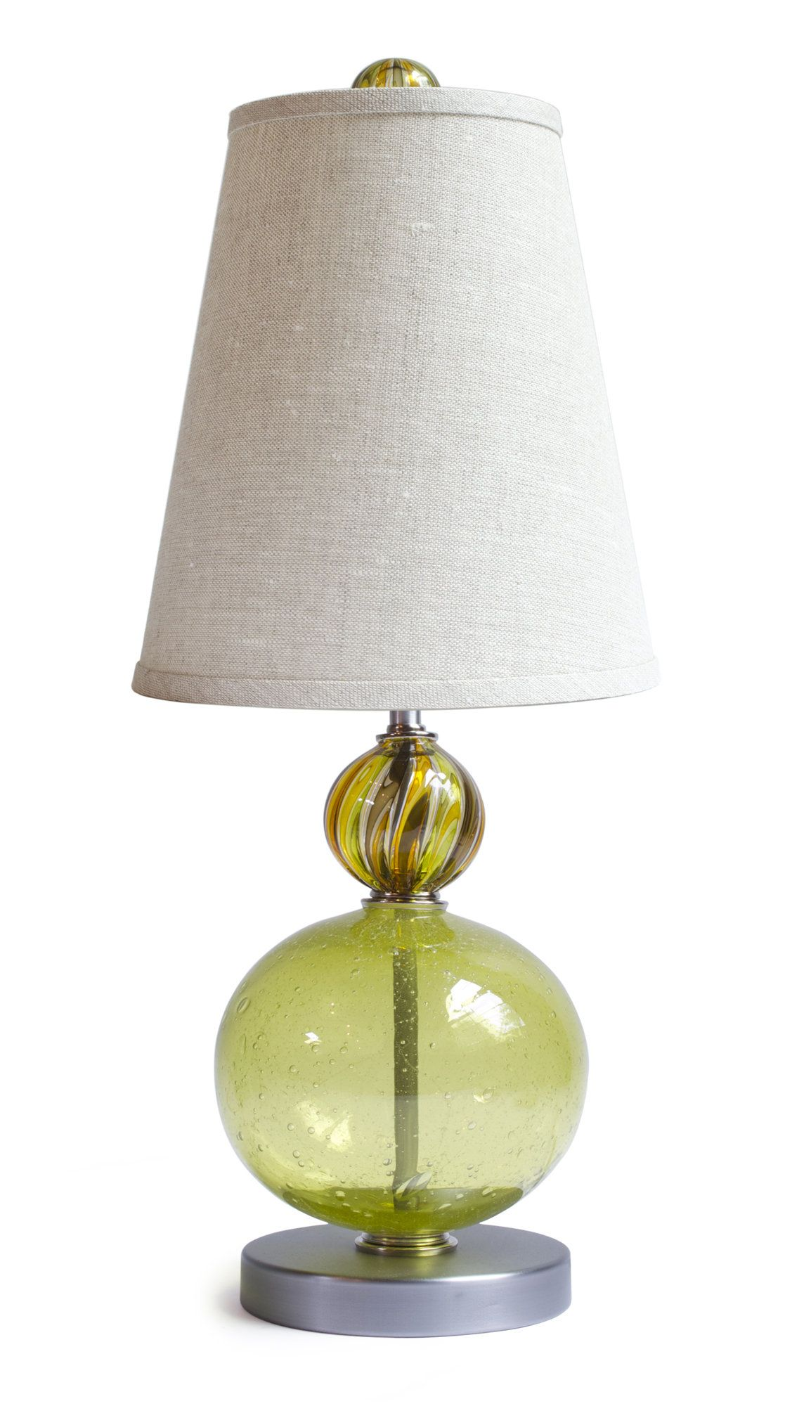Beautiful Susan Lamp By Tracy Glover (Art Glass Table Lamp