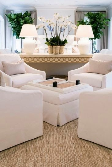 Simply White Living Room Ideas: Better Late Than Never!