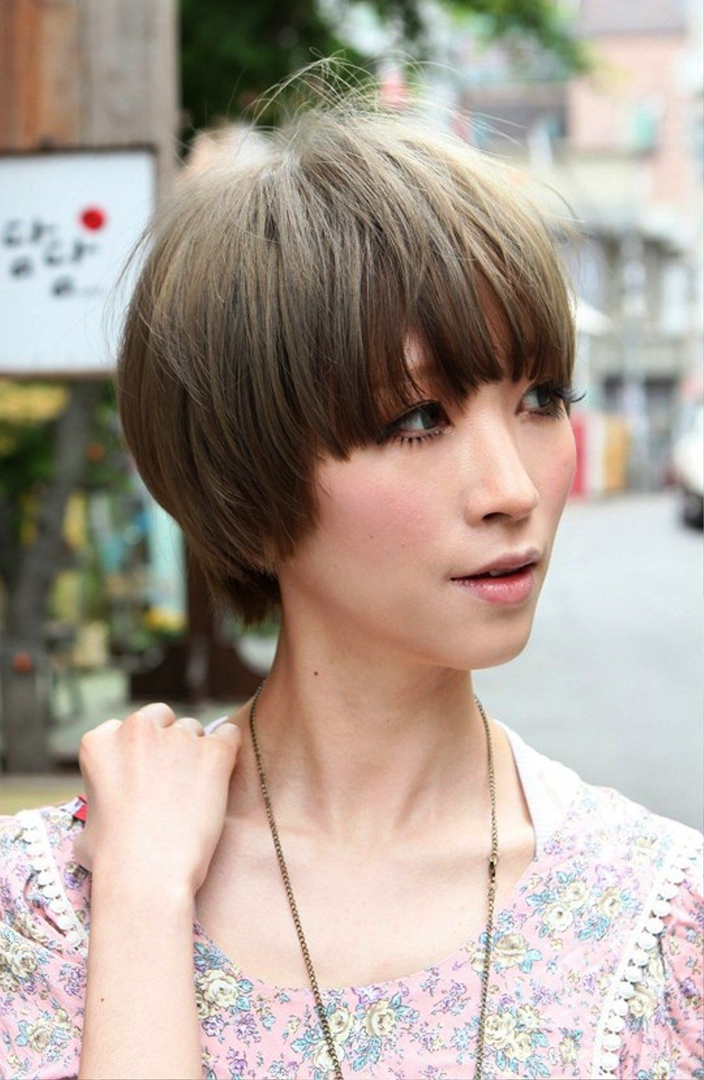 Best Short Japanese Hairstyle For Womeng 10241570 Chop The
