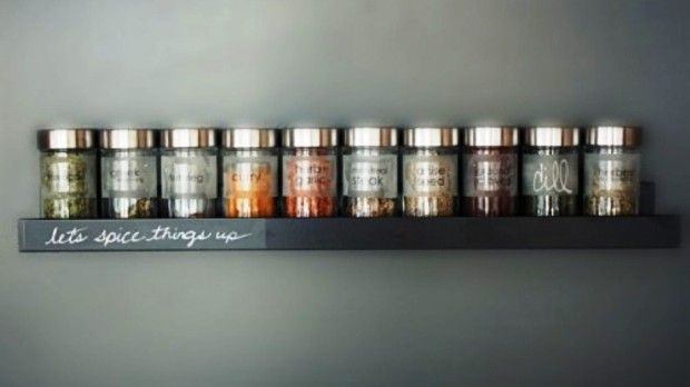 DIY Spice Rack Ideas Diy spice rack, Kitchens and Organizing