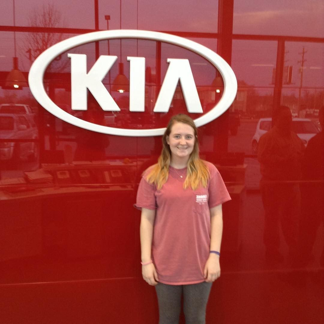 Madison Bought A 2013 Sportage From Erika Thank You And Congrats Kia Sportage Sports Jersey