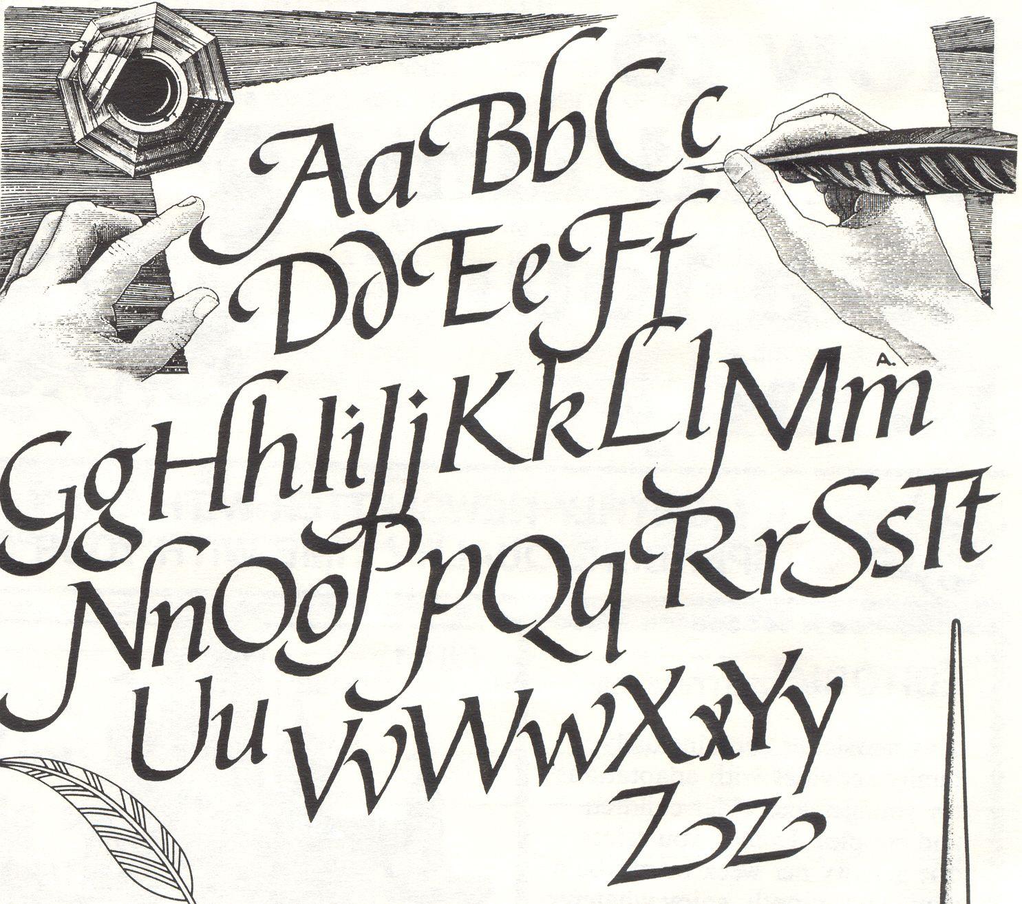 17 November Learn The Art Of Calligraphy