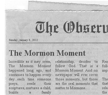 What Mormons want out of The Mormon Moment