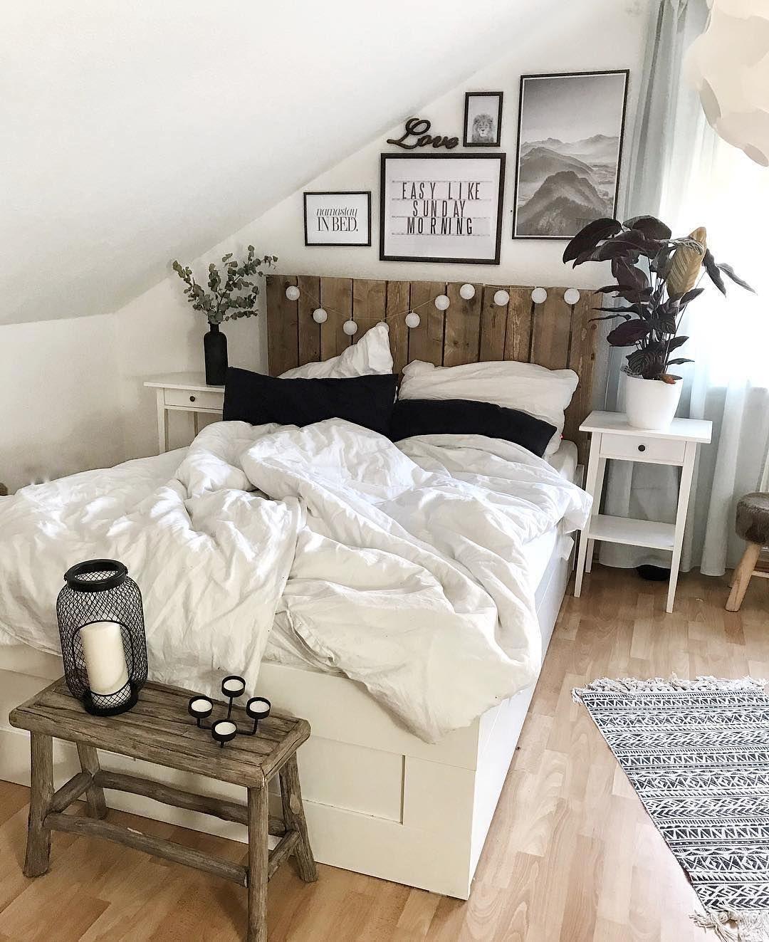 Simple Pretty Bedroom | Chambre deco ado, Idée chambre et ...