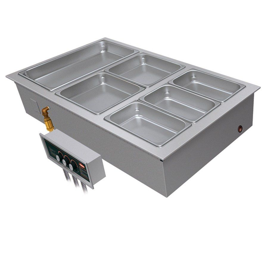 208v Single Phase Hatco Hwbi 3da Three Compartment Modular Ganged Drop In Hot Food Well With 3 4 Npt Drain And Auto Fill Commercial Kitchen Equipment Commercial Kitchen Food Service Equipment