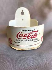 Vintage Tin Coca-Cola Bottling Jackson Tennessee Advertising Promo String Holder