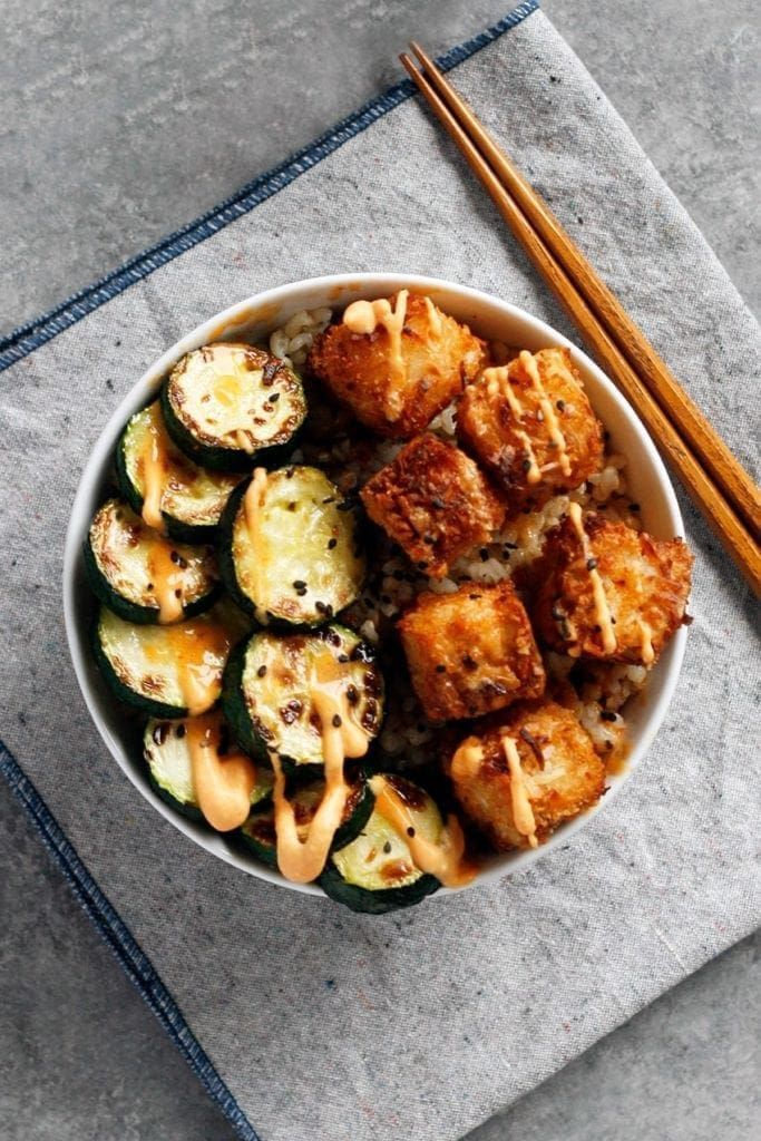 Photo of Coconut Crusted Tofu with Sweet Chili Sauce Recipe | Well Vegan