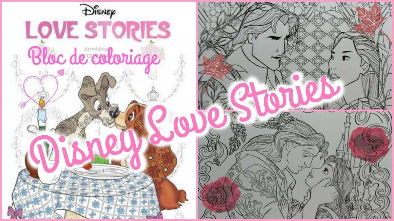 Bloc coloriage : Love Stories - YouTube (mit Bildern)