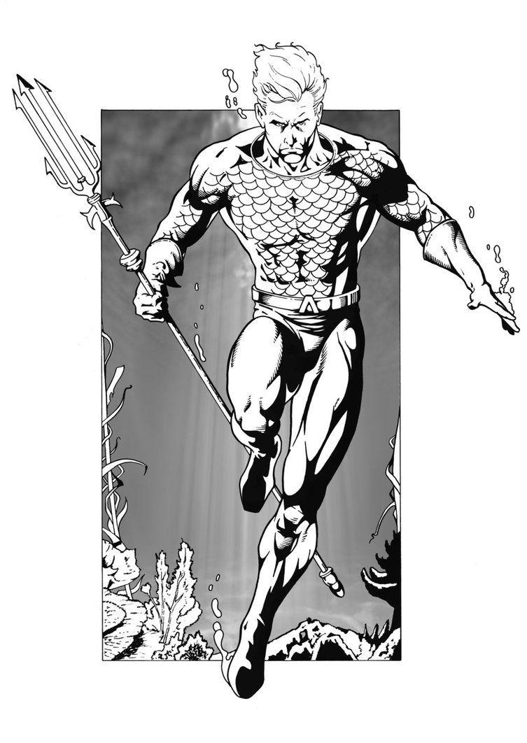 Amazing Aquaman artwork Aquaman, Aquaman artwork, Iron