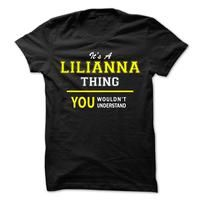 Its A LILIANNA thing, you wouldnt understand !!
