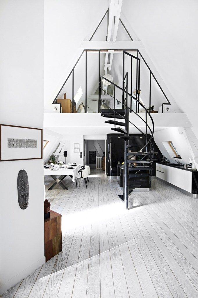 Interior Design   Loft Life: The Most Beautiful Apartments That Blew Up Pinterest