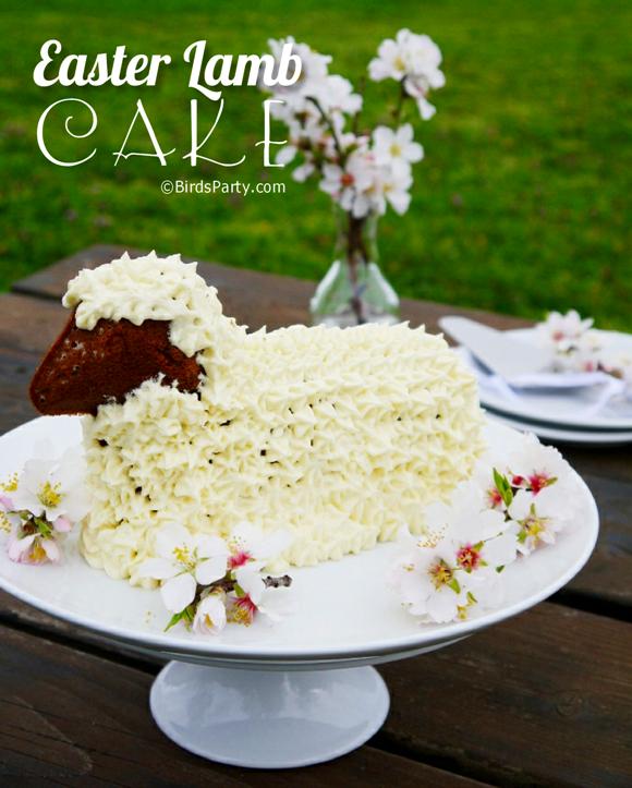 Recipe for chocolate easter lamb cake