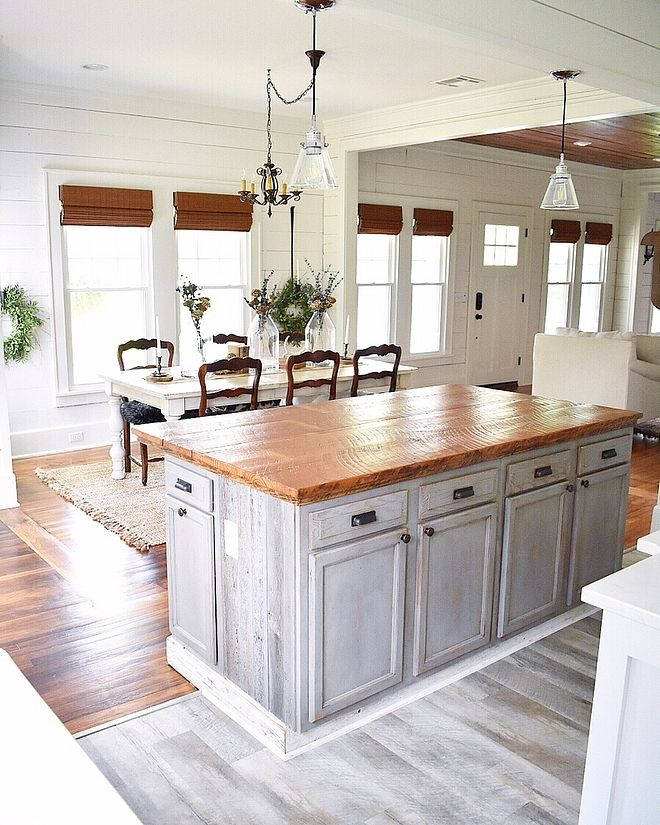 Love The Color Of The Cabinets- But Maybe Too Much Gray If