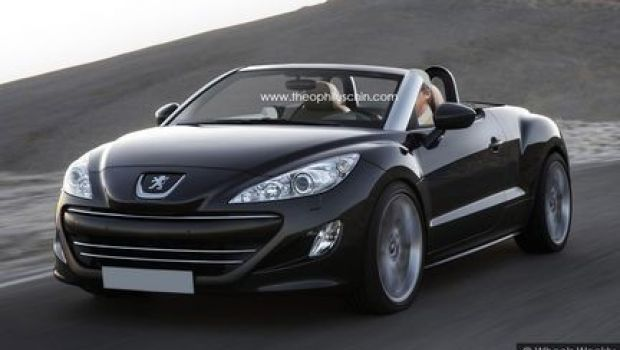 le peugeot rcz cabriolet illustr miam cars pinte. Black Bedroom Furniture Sets. Home Design Ideas