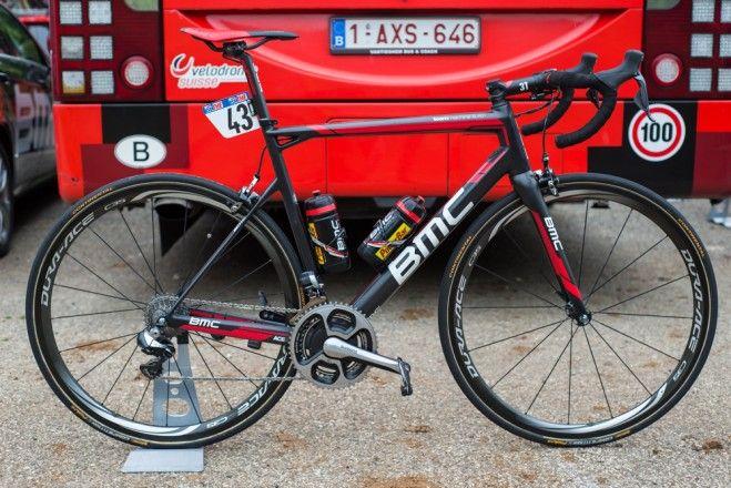 Velonews Pro Bike Gallery Brent Bookwalter S Bmc Teammachine
