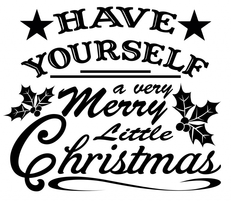 Free Merry Little Christmas SVG File   Christmas svg files ...