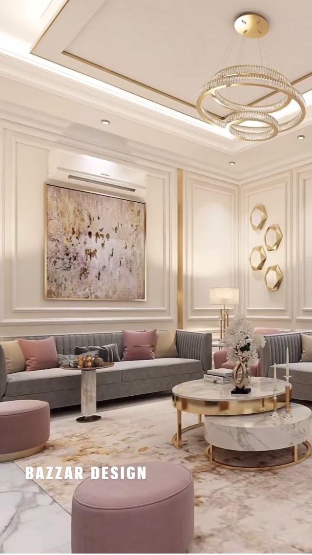 Beautiful Modern Living Room Interior Idea