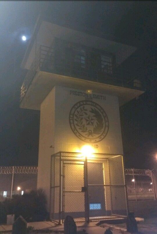 texas department of criminal justice preston e smith unit b olivo cov on the catwalk lamesa texas