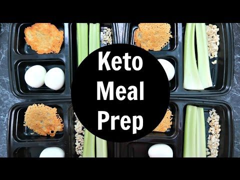 First Week Of Keto Meal Prep Sunday Low Carb Ketogenic Diet Keto