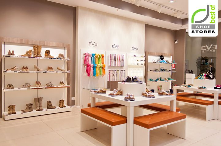 Shoe stores eve milano shoe store by onekee s r l for Milano design shop