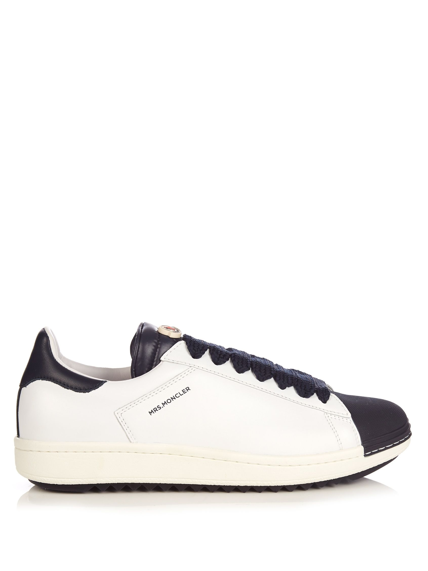 28cb3c775 Click here to buy Moncler Angeline low-top leather trainers at ...