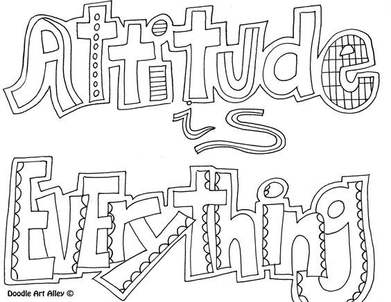 Quote coloring pages, Pen and watercolor and Coloring pages on ...
