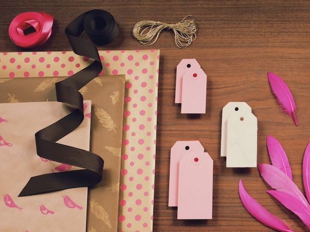 Here's a really interesting subscription service —Gift Horse & Co. Just launched in May, each box is packed with a lavish selection of coordinated wrapping papers, ribbons, gift tags, cards, embellishments and the occasional surprise.