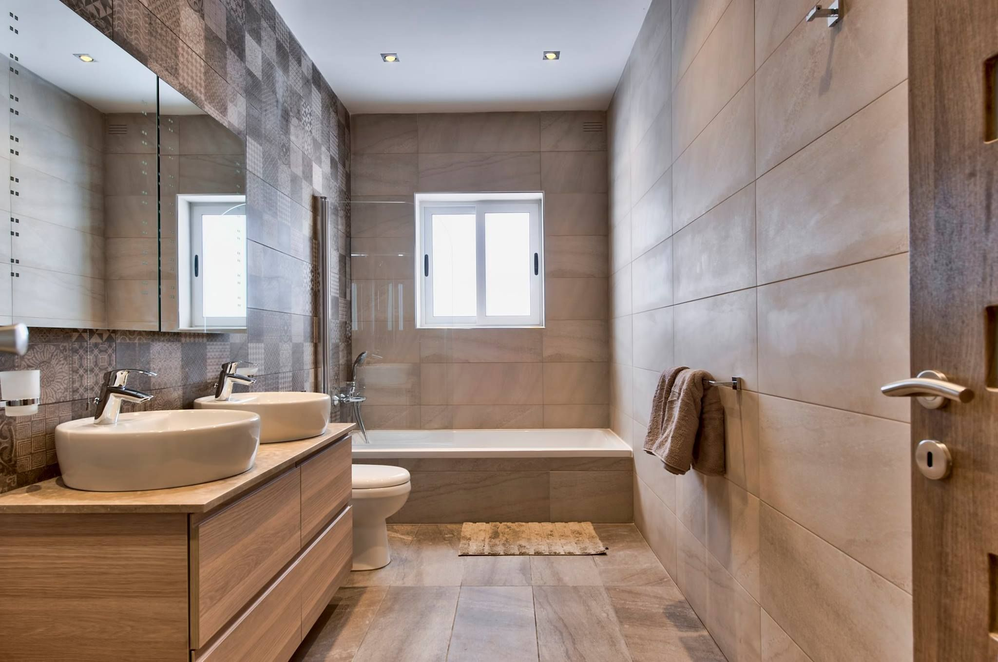 Main Bathroom  Modern Bathrooms  Villa Ghea  Luxury