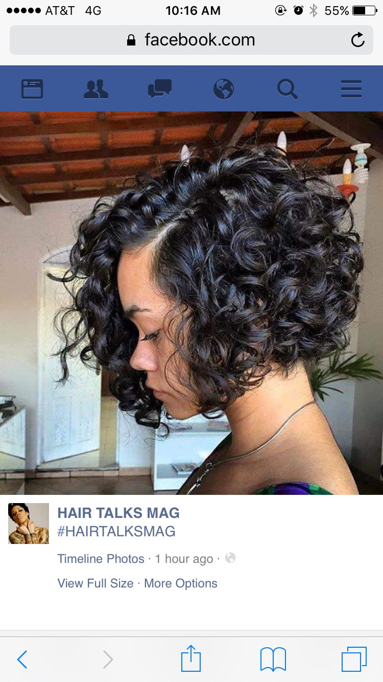 Pin by noelany pelc on curly hair pinterest hair style bobs and