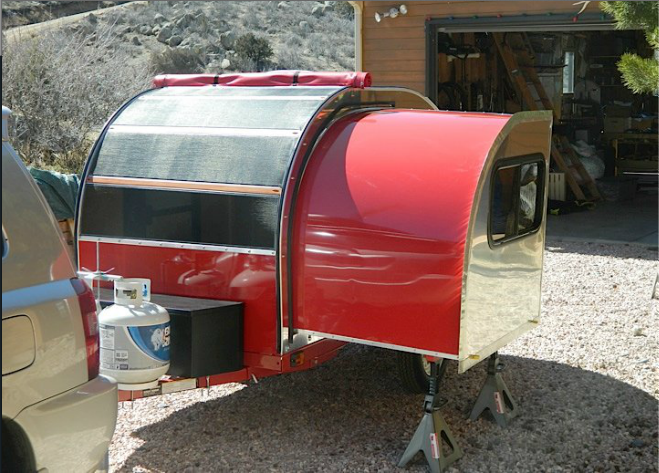 Tiny Camper on Pinterest Teardrop Trailer Interior