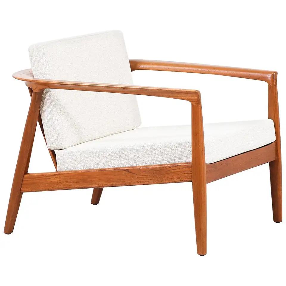 Folke Ohlsson Model 72 C Teak Lounge Chair For Dux In 2020