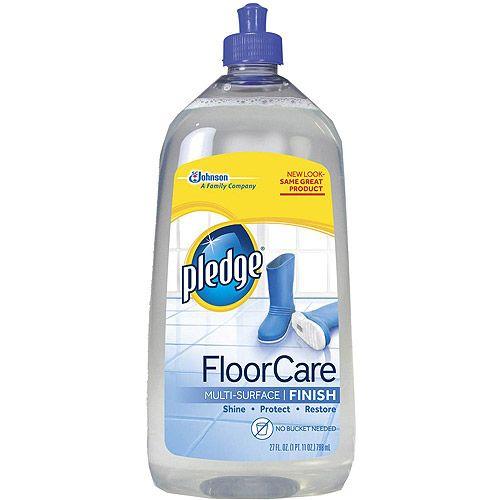 Walmart Pledge Floor Care 27 Fl Oz Pledge Floor Care