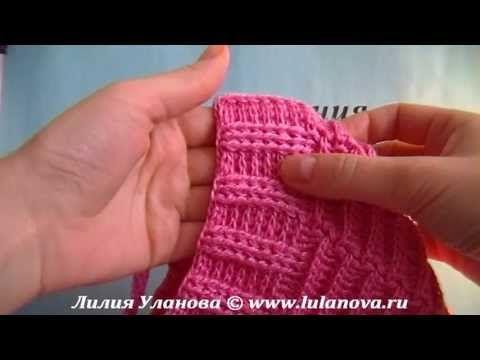 Шапка Модная - вязание крючком детской шапки - YouTube