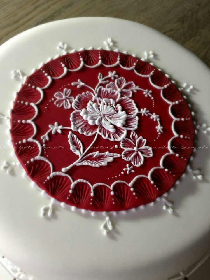 Cookie Decorating Icing Brush Embroidery
