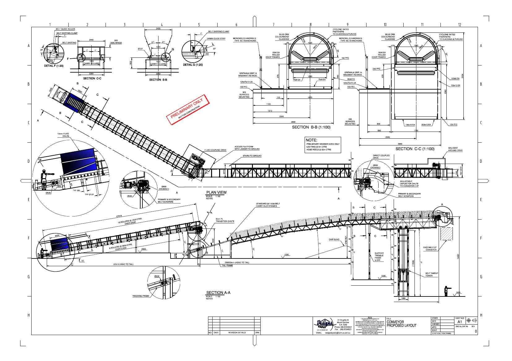 conveyor belt drawings  sablier