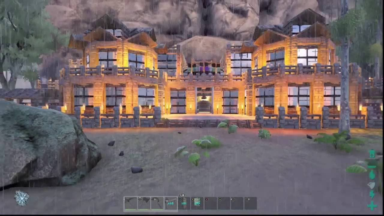 Beautiful Image Result For Ark Survival House On Waterfall