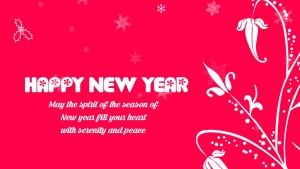 new year message greeting card with images wallpapers