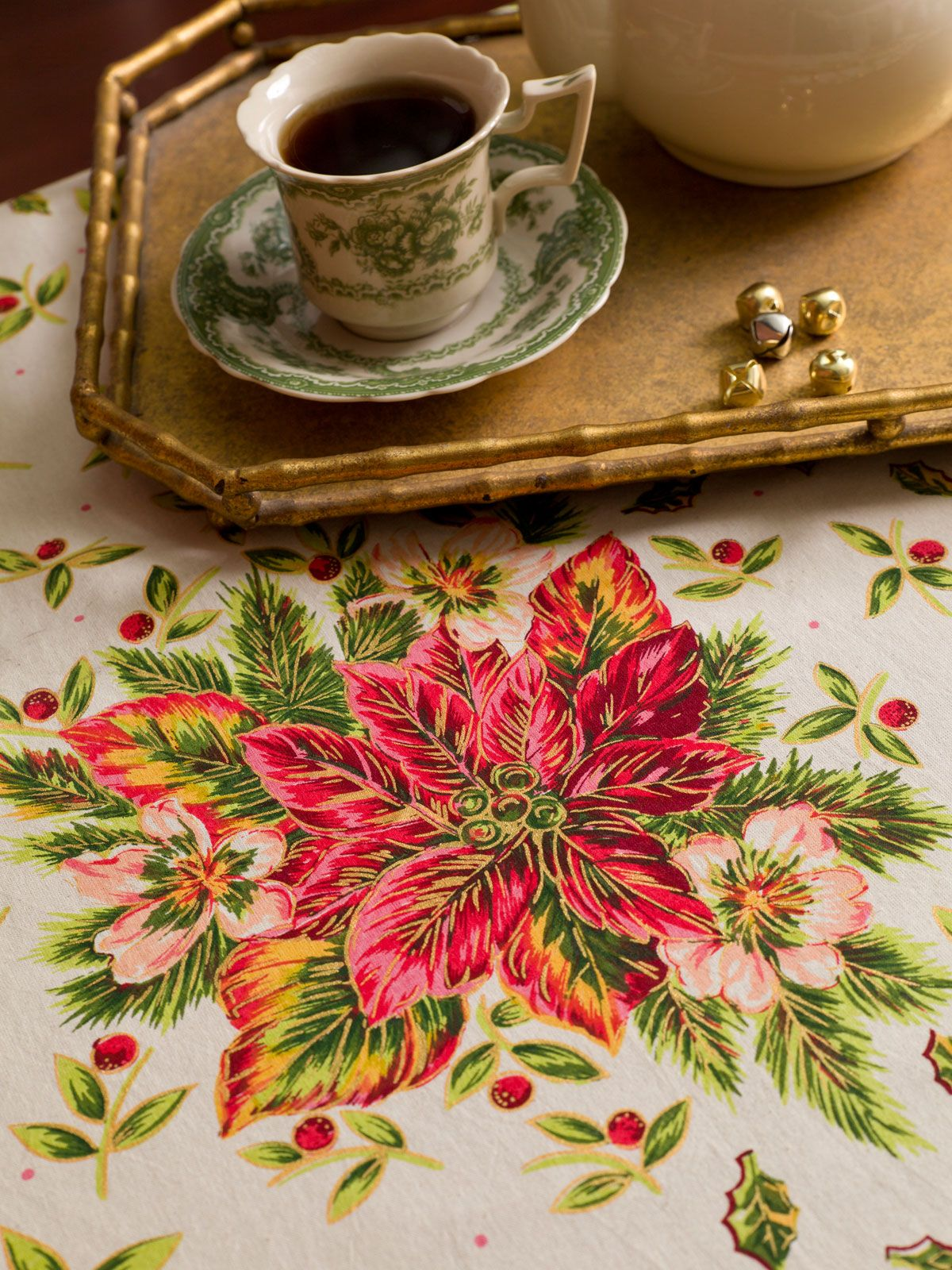 Superieur A Classic Symbol Of The Holidays With A Bit Of Flair, Our Poinsettia  Tablecloth Will