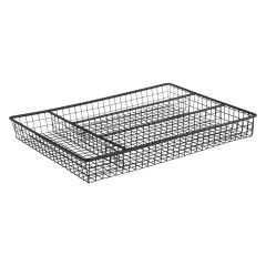 NEVIN Black Wire Cutlery Tray