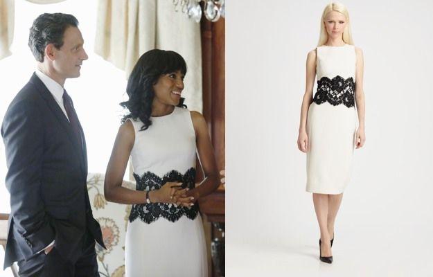 Scandal season 1 white dress petite