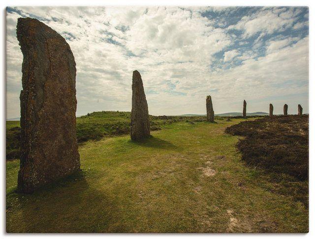 Artland Leinwandbild »Andrea Potratz: Ring von Brodgar auf Orkney« online kaufen | OTTO
